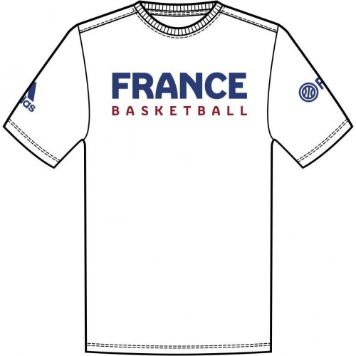 T-shirt France Basket-Ball