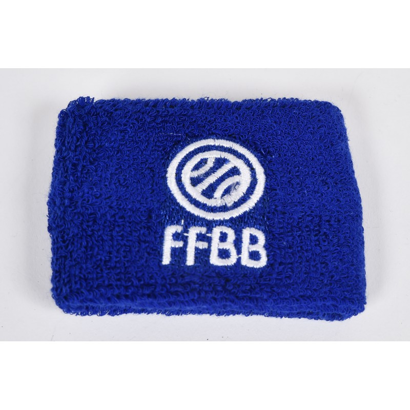 Poignet Eponge FFBB - Bleu