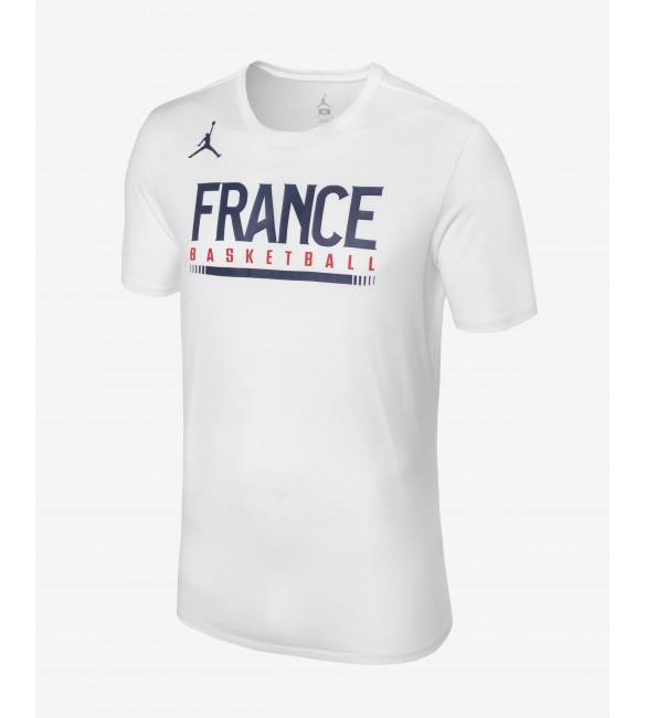 T Shirt Blanc Basket France Jordan Ball NOv8wnm0yP