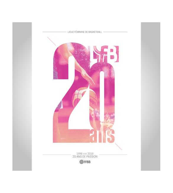 Livre 20 ans LFB FFBB Store