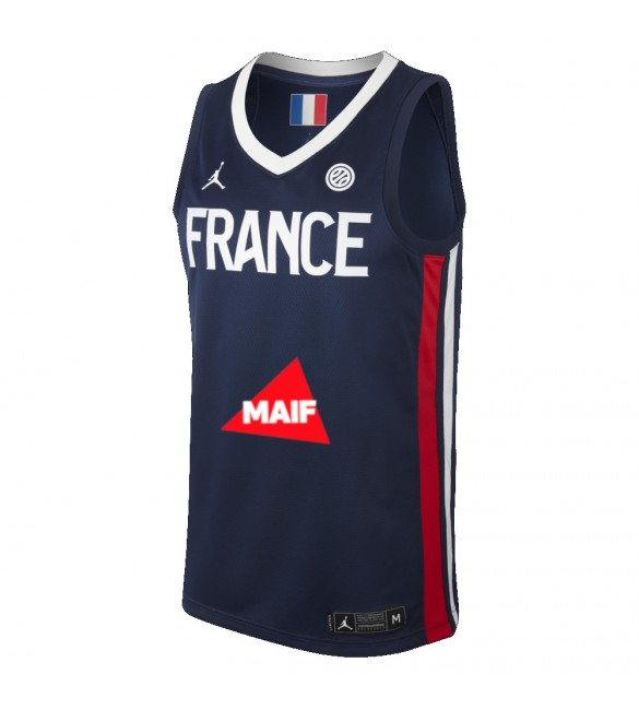 MAILLOT OFFICIEL FRANCE 2019 HOME FFBB Store