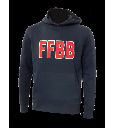 HOODY FFBB M/R COTON BIO