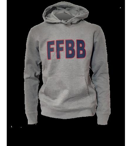 HOODY FFBB G/B COTON BIO