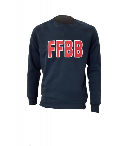 SWEAT FFBB M/R COTON BIO
