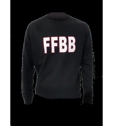 SWEAT FFBB N/B COTON BIO