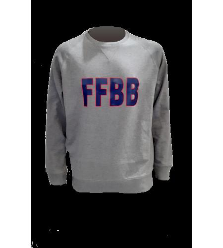 SWEAT FFBB G/B COTON BIO