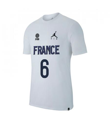 T-Shirt JORDAN X FFBB Collector CHARTEREAU