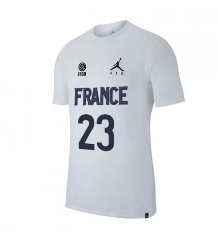 T-Shirt JORDAN X FFBB Collector JOHANNES